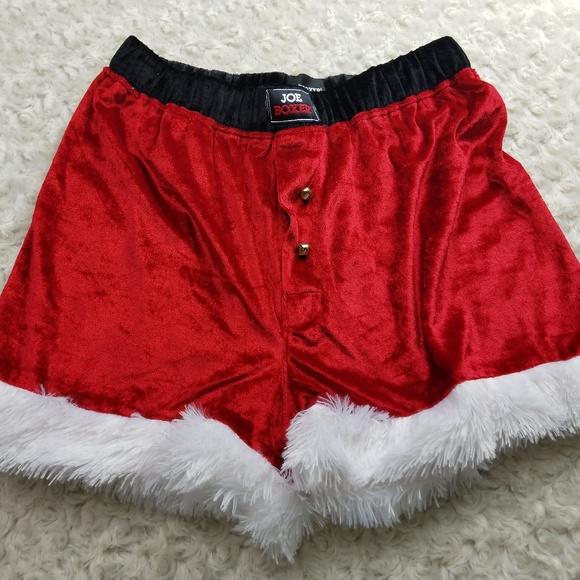 Joe Boxer Other - Santa Boxers Sz M Ugly Christmas d54a99577